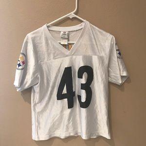 Women's Pittsburgh Steelers Jersey Medium Polamalu